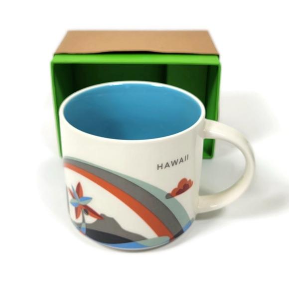 Starbucks You Are Here Collection Hawaii Mug